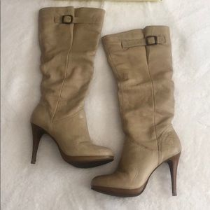 Cathy Jean Size 9 boots upper leather